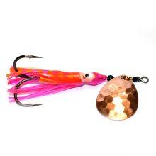 GDF Copper #4 Hex Colorado Hoochie Spinners